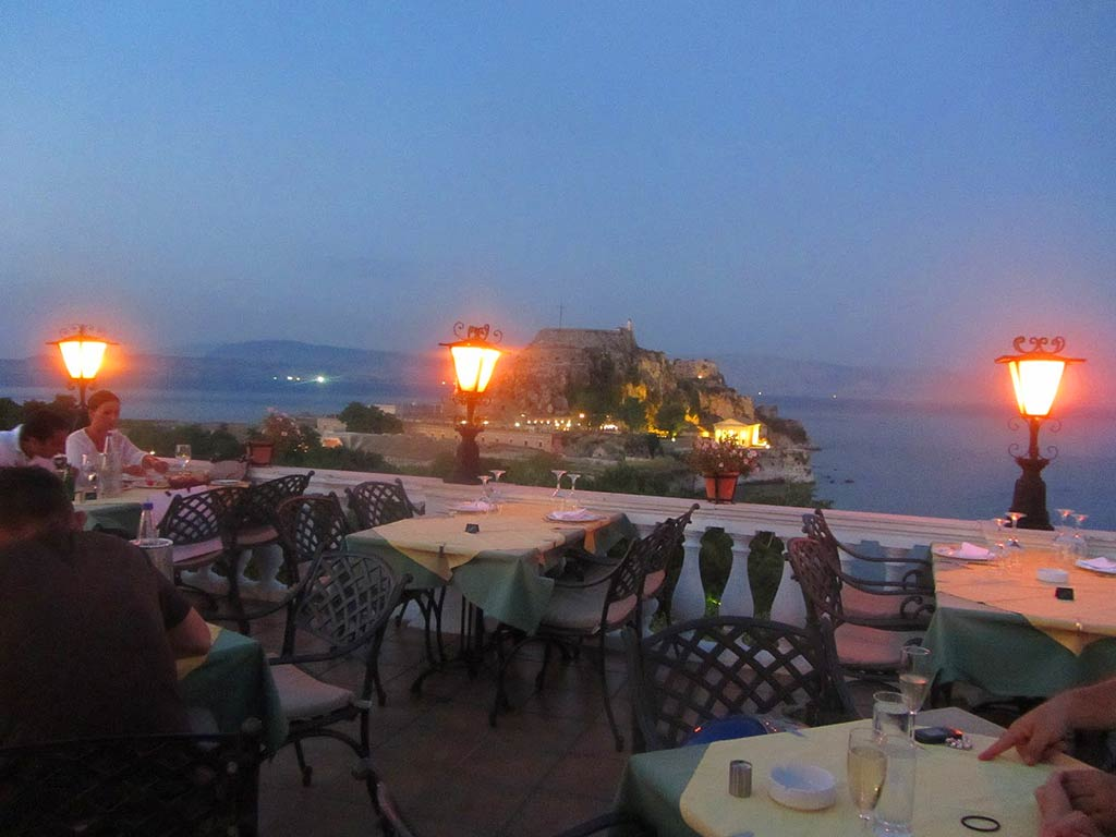 Corfu Cafe Bars -  - Cavalieri Roof Garden