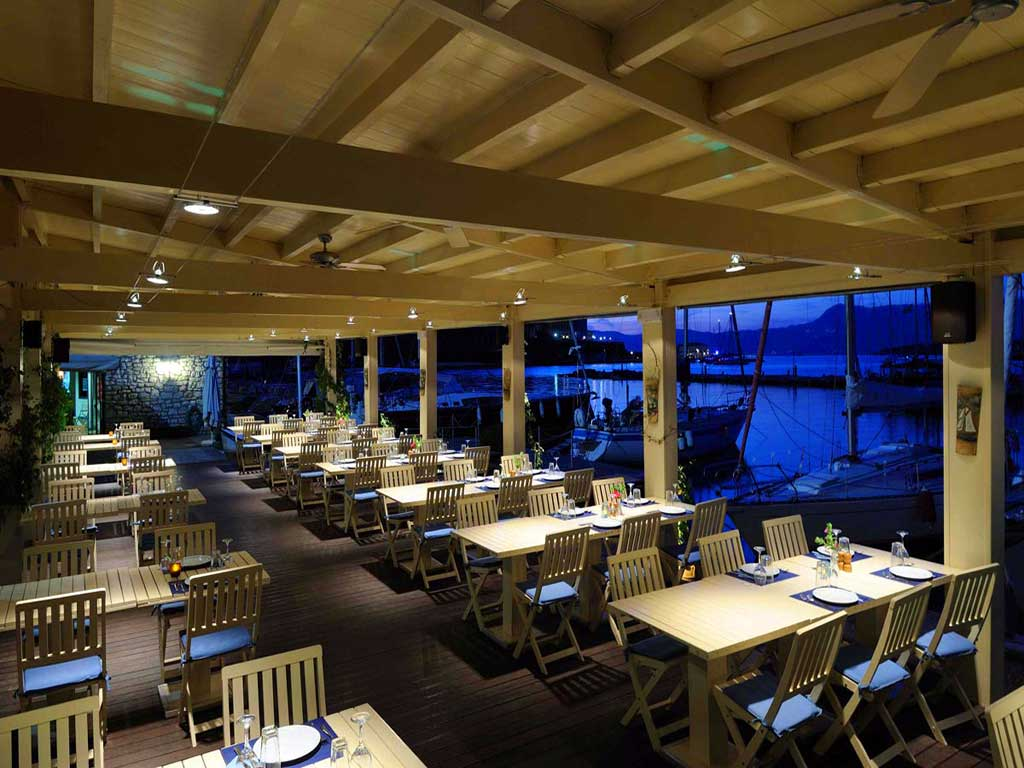 Corfu Restaurants -  - Corfu Sailing Club Restaurant