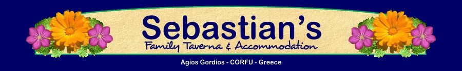 Corfu Restaurants -  - Sebastian's Family Taverna & Accommodation