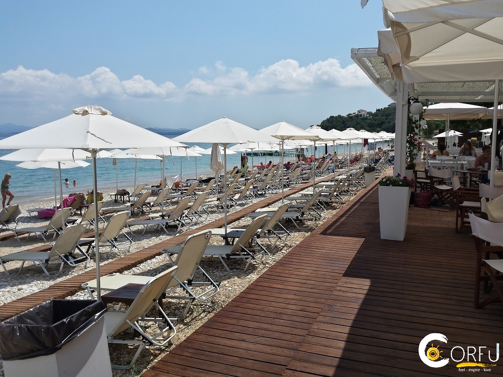 Corfu Beach Bars -  - Verde Blu Seaside Cafe Bar Restaurant