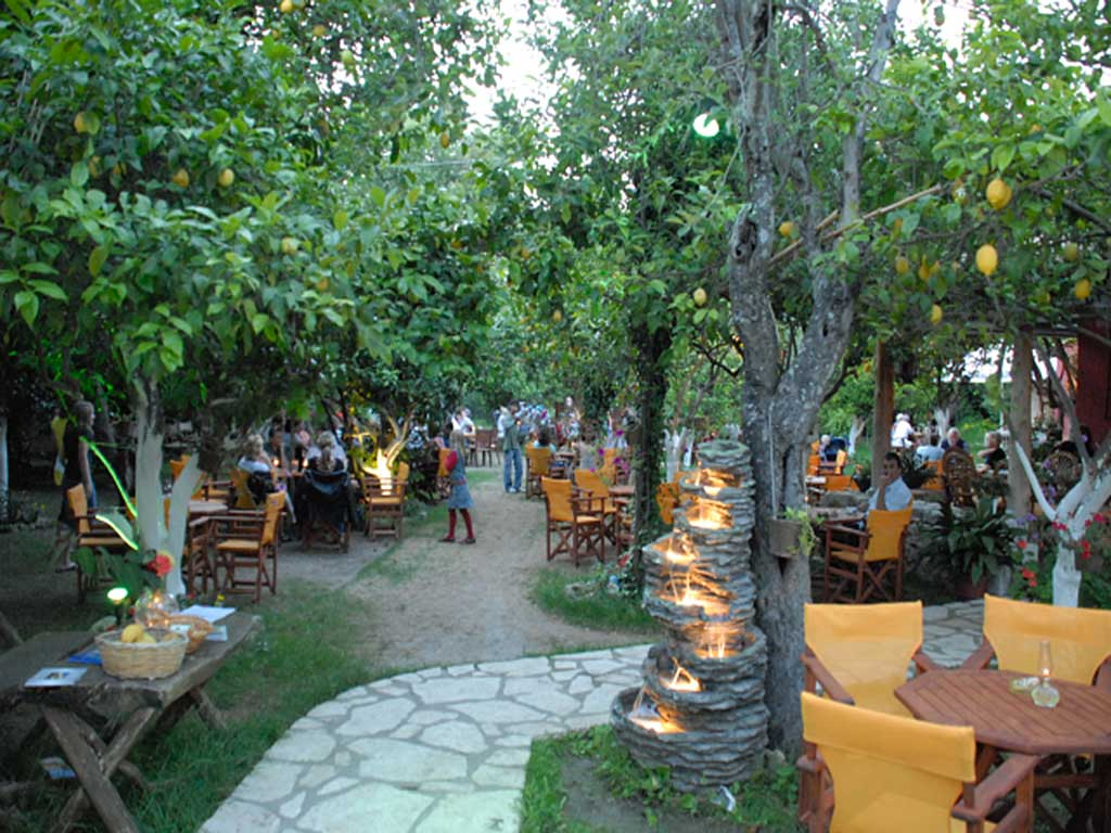 Corfu Restaurants -  - Lemon Garden Restaurant