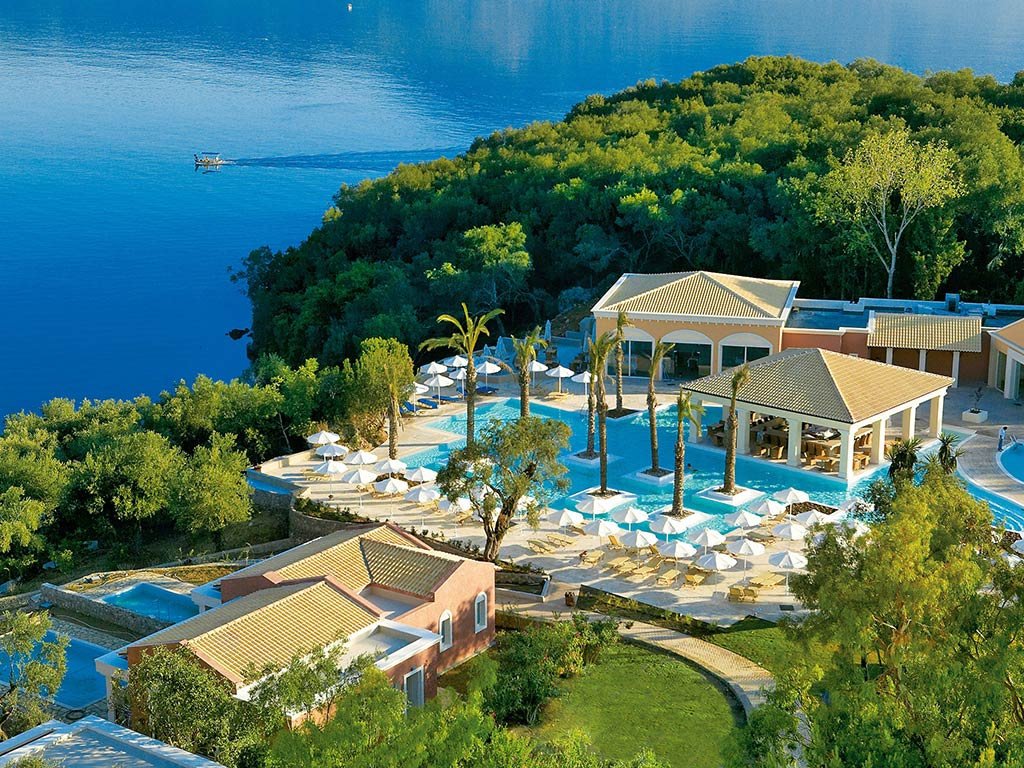 Corfu hotels for Top hotels griechenland