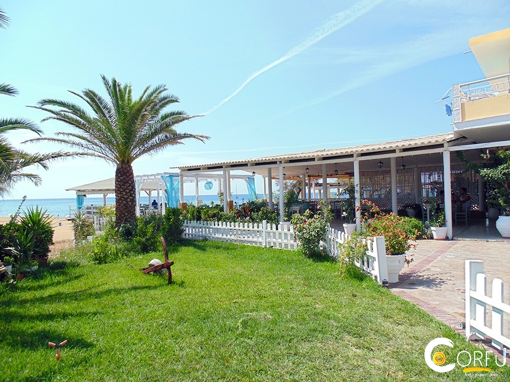 Corfu Restaurants -  - Nikos Seaside Restaurant Marathias Beach