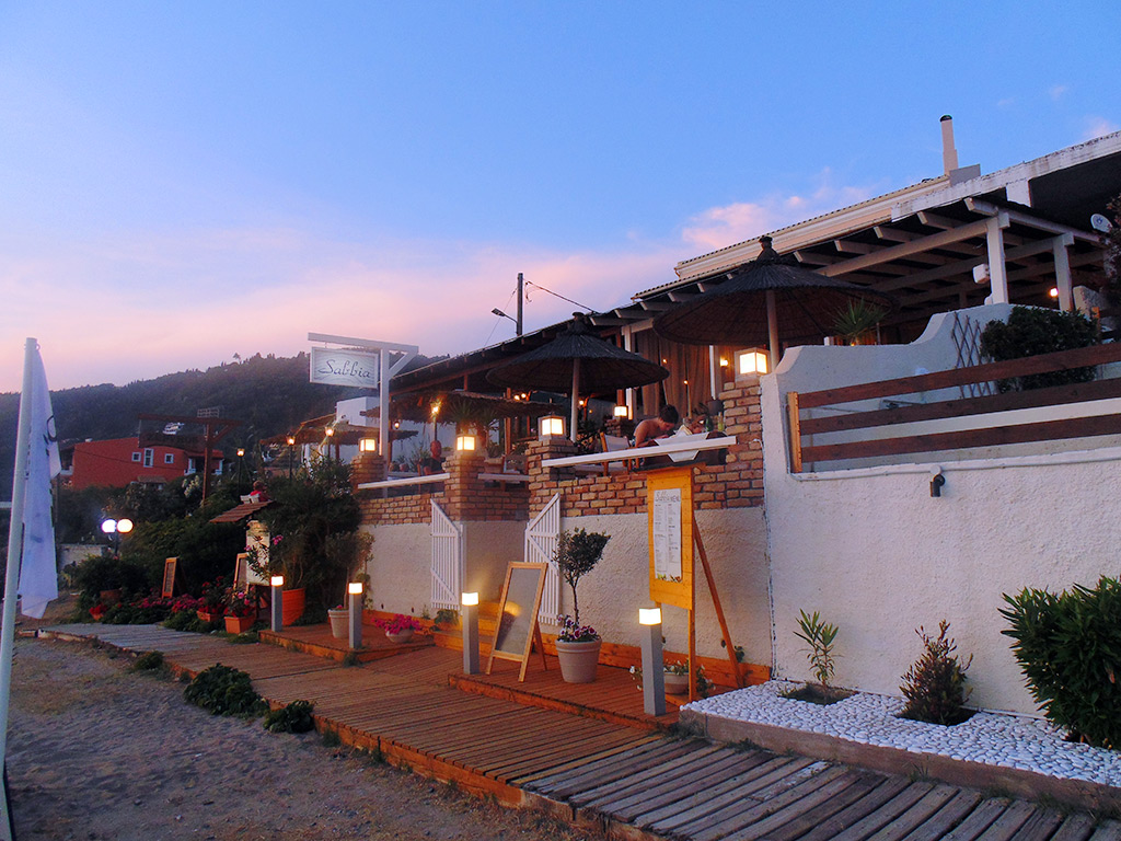 Corfu Beach Bars -  - Sabbia all Day & Night Restaurant Beach Bar