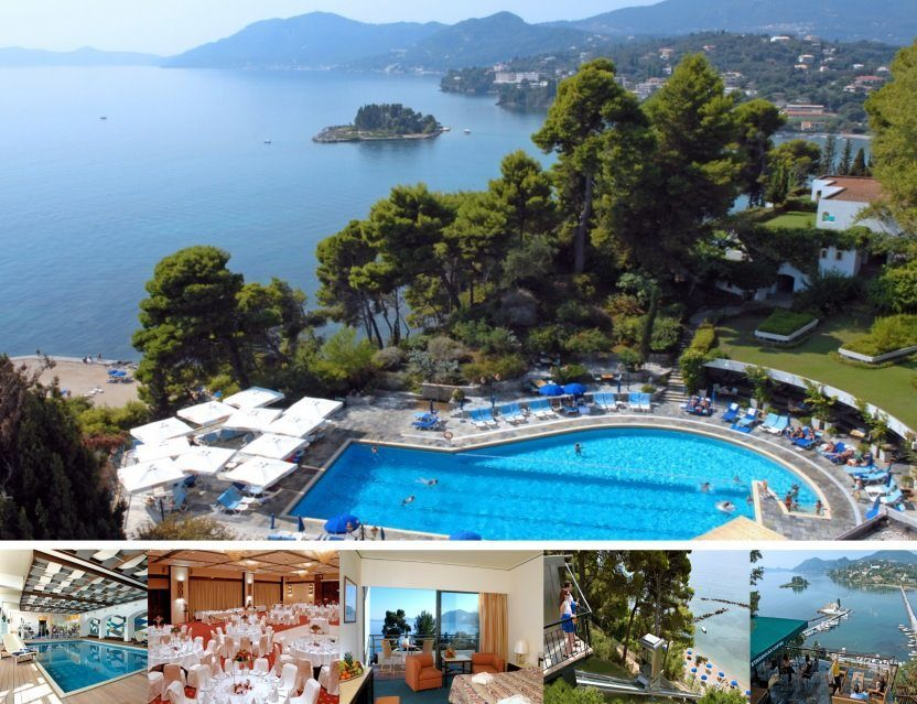 Гостиницы -  - Corfu Holiday Palace