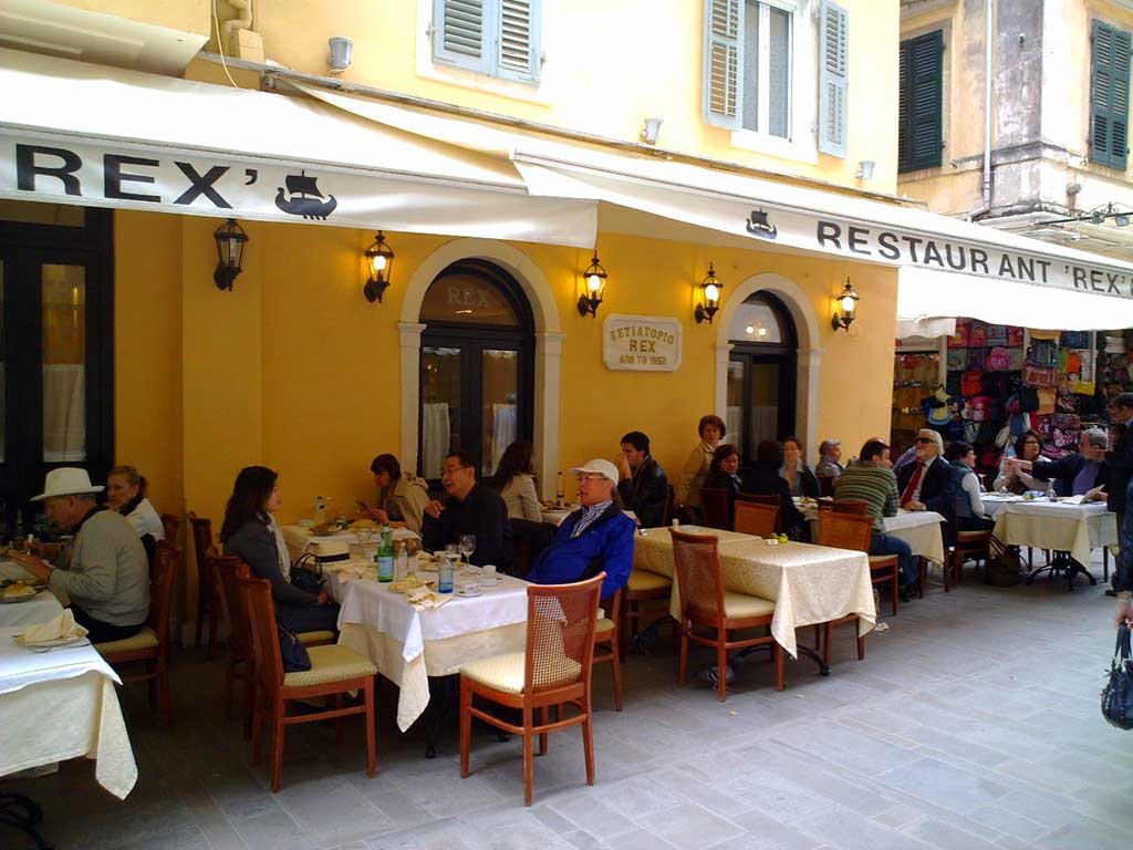 Corfu Restaurants -  - Rex Restaurant