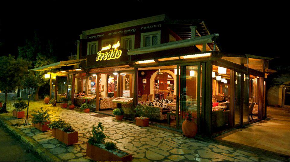 Corfu Cafe Bars -  - Freddo Cafe Bar