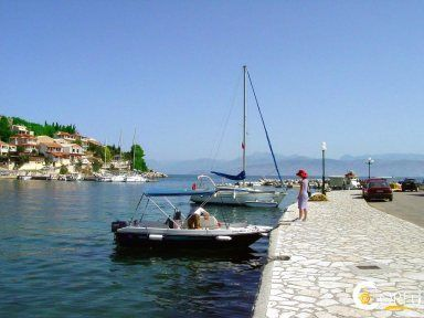 Kassiopi small Port