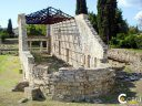 Corfu Archaeological Sites - Early Christian church basilica Palaiopolis