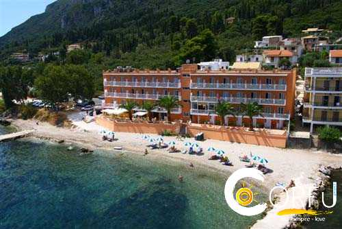 Traveler: Ifigenia Samartzi at Corfu Maris Hotel