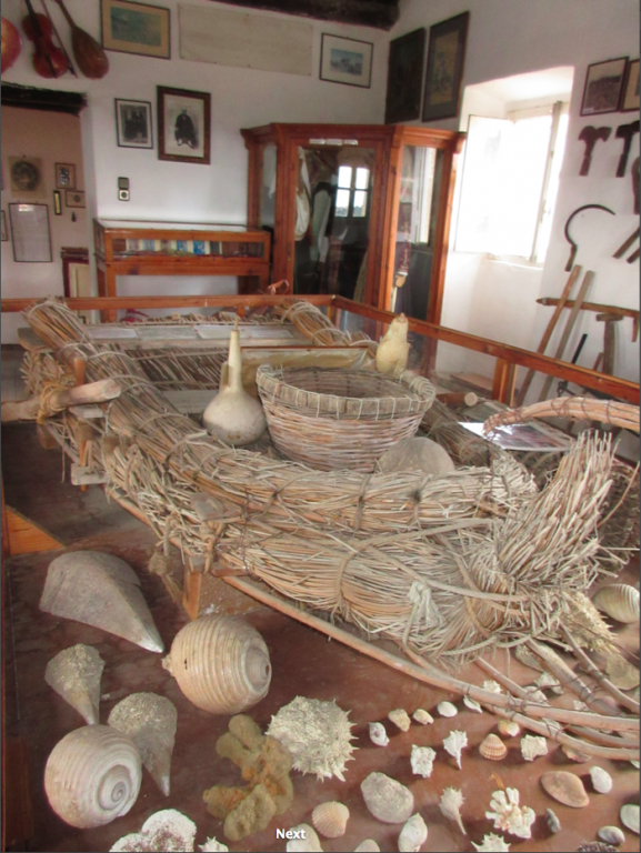 Traveler: Vanessa Makraki at Historical and Folklore Museum of Middle Corfu