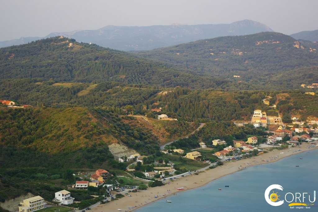 Traveler: Mico Rikic at Beach Agios Georgios(Saint George) Pagon