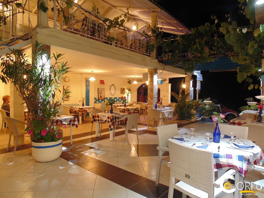 Corfu Restaurants -  - Romantic Palace Seaside Restaurant (Agios Gordios)