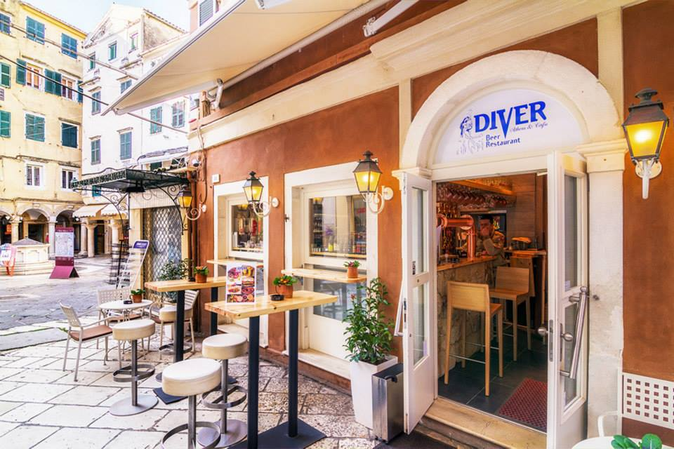 Corfu Restaurants -  - Diver Beer Restaurant