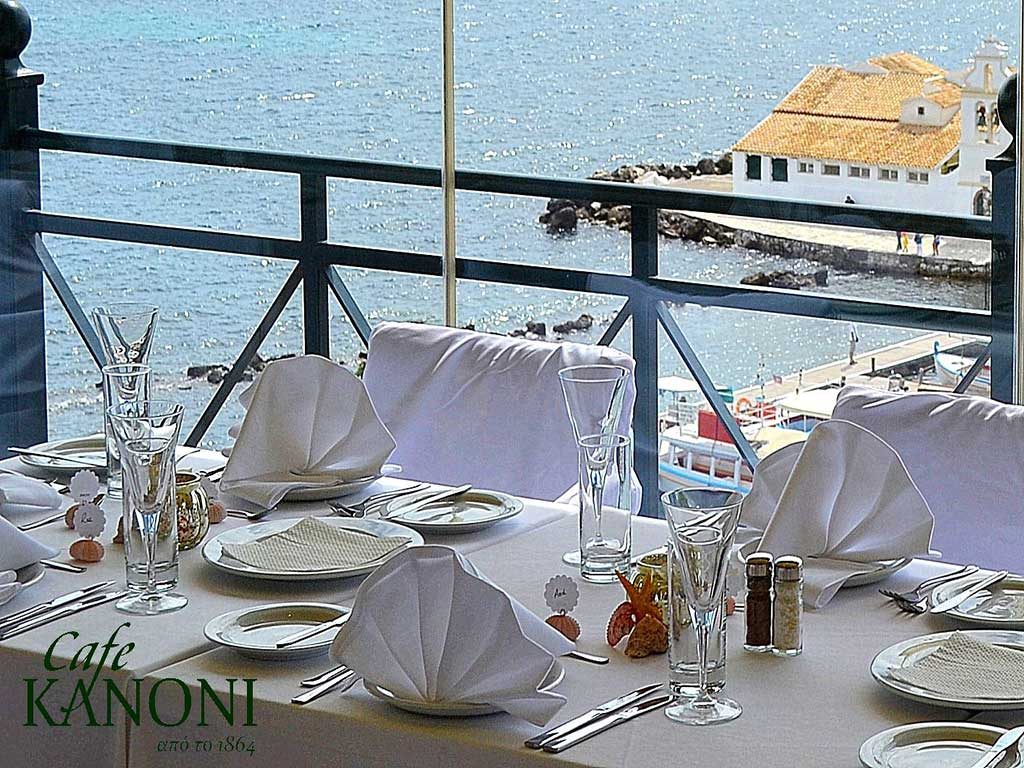 Corfu Cafe Bars -  - Cafe Kanoni
