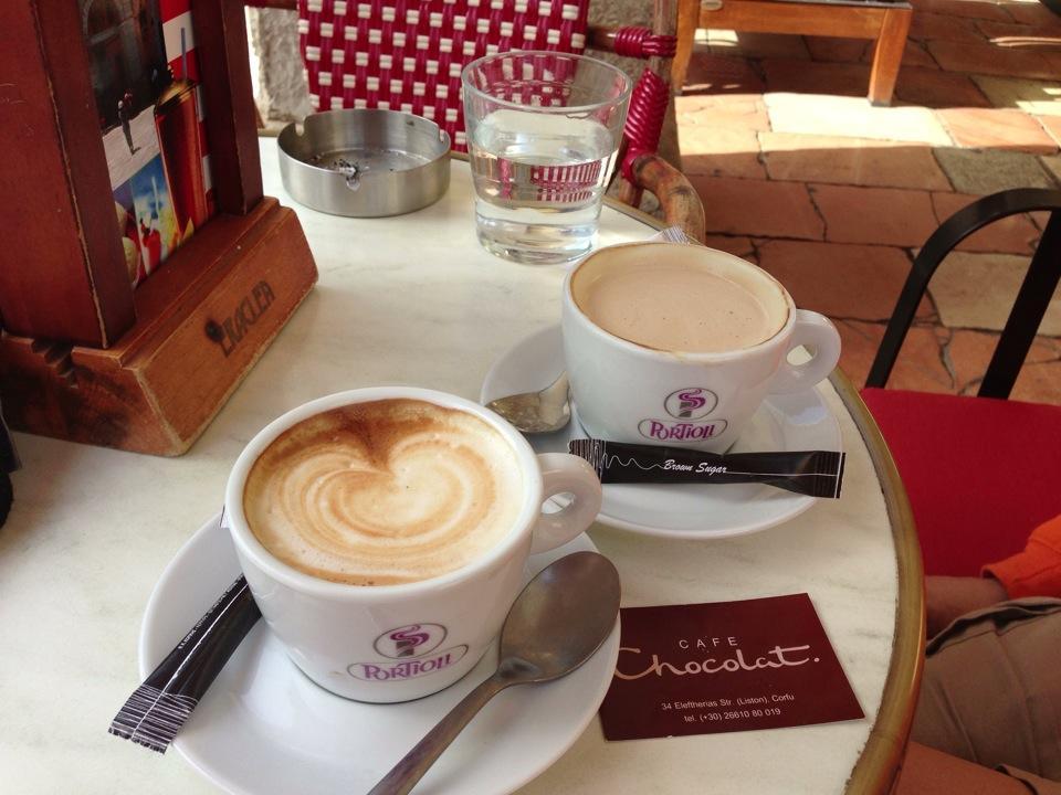 Cafe au Chocolat logo