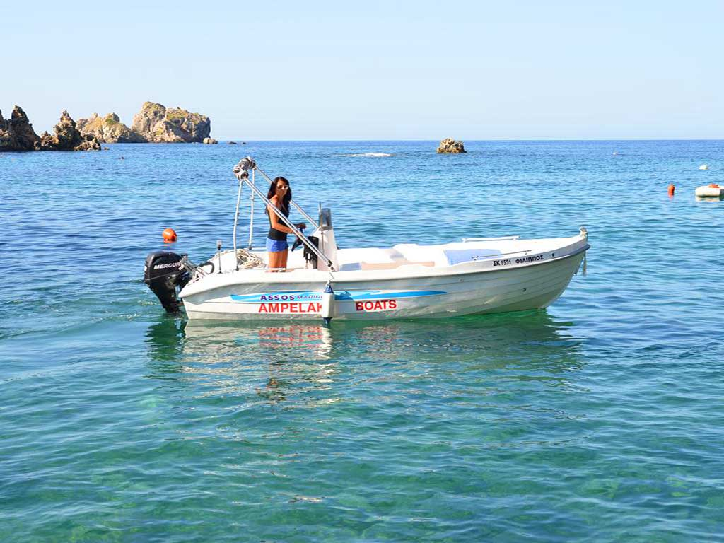 Ampelaki Boat Rentals logo