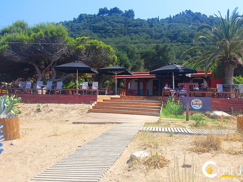 Corfu Beach Bars -  - Bodega Beach Bar Restaurant Kontogialos Pelekas