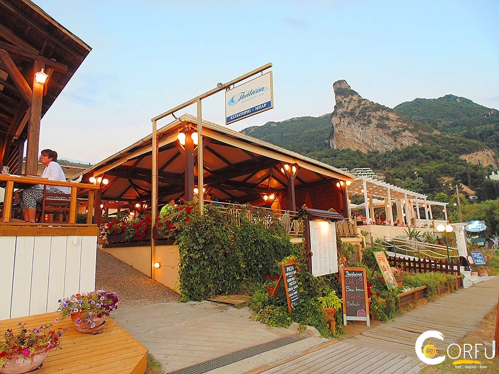 Corfu Restaurants -  - Thalassa Seaside Restaurant Cafe (Aghios Gordios)