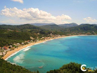 Beach Agios Georgios(Saint George) Pagon