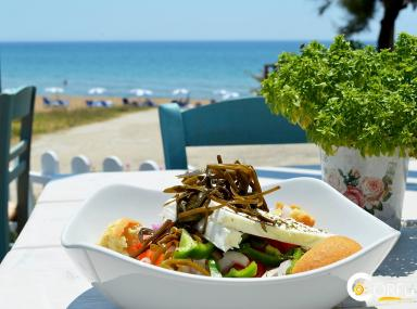 Nikos Seaside Restaurant Marathias Beach